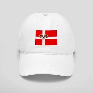 Danish Football Flag Cap