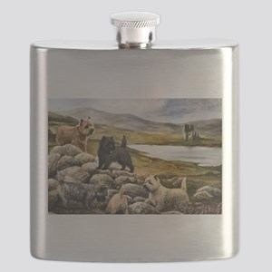 Cairn Terrier Flask