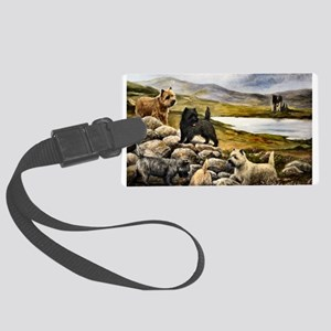 Cairn Terrier Large Luggage Tag