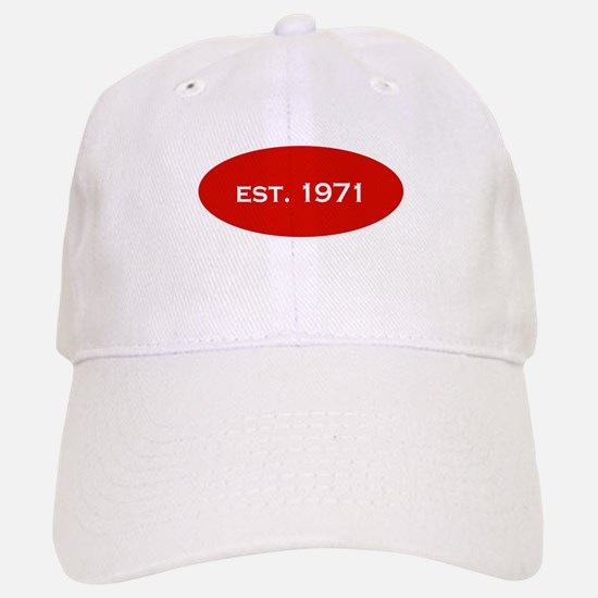 Est. 1971 Baseball Baseball Cap