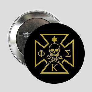 "Phi Kappa Sigma Badge 2.25"" Button (100 pack)"