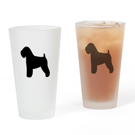 Wheaten Terrier Drinking Glass