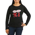 Get Real Women's Long Sleeve Dark T-Shirt