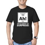 Element of Surprise Men's Fitted T-Shirt (dark)