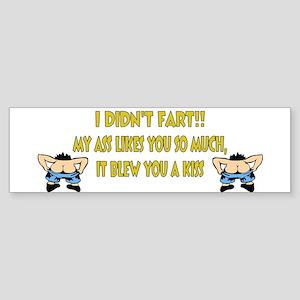 Didnt Fart Sticker (Bumper)