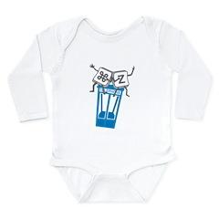 Excellent Undo Long Sleeve Infant Bodysuit