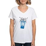 Excellent Undo Women's V-Neck T-Shirt