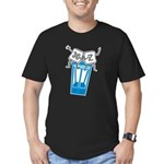Excellent Undo Men's Fitted T-Shirt (dark)