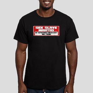 Sex Slave Men's Fitted T-Shirt (dark)