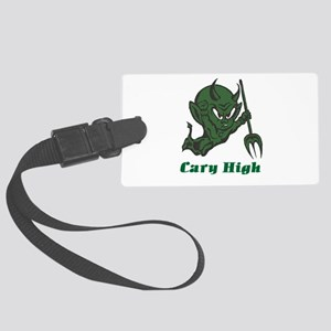 Cary High Green Imp Large Luggage Tag