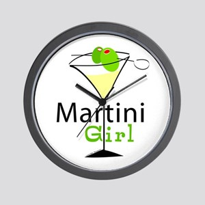 Martini Girl Wall Clock