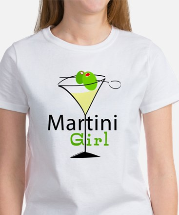 Martini Girl Women's T-Shirt