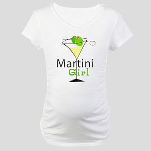 Martini Girl Maternity T-Shirt