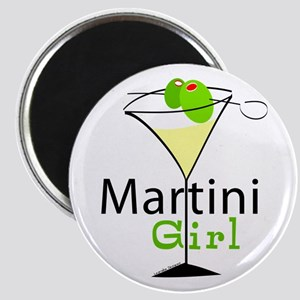 Martini Girl Magnet