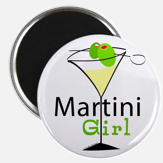 Martini Girl Magnet
