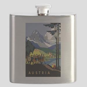 Austria Band Flask