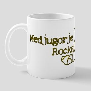 medjugorje rocks girl Mugs