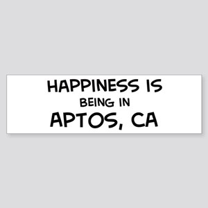 Aptos - Happiness Bumper Sticker
