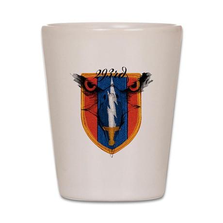 293rd logo Shot Glass