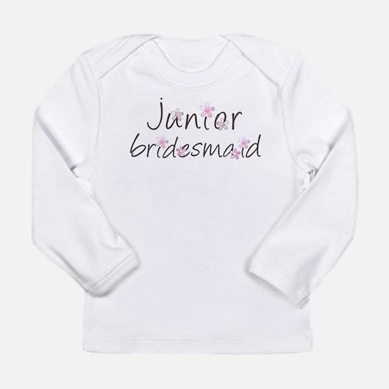 Sweet Jr. Bridesmaid Long Sleeve Infant T-Shirt