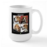 Let It Beagle Large Mug