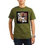 Let It Beagle Organic Men's T-Shirt (dark)