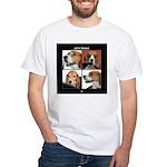 Let It Beagle White T-Shirt