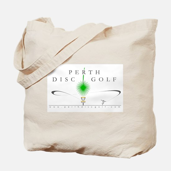 Perth Disc Golf in Colour Tote Bag