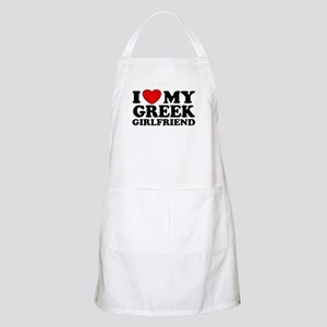 I love My Greek Girlfriend BBQ Apron