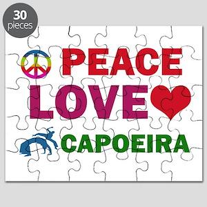 Peace Love Capoeira Designs Puzzle
