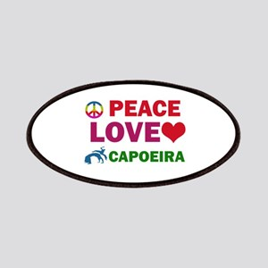 Peace Love Capoeira Designs Patches