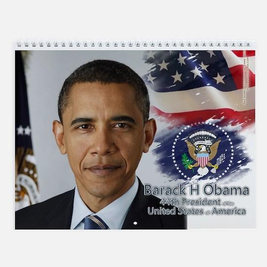 44th President Collectors' Wall Calendar