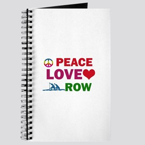 Peace Love Row Designs Journal