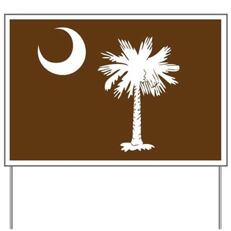 SC Palmetto Moon Yard Sign