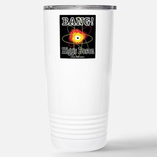 HIGGS BOSON Stainless Steel Travel Mug