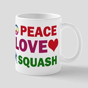 Peace Love Squash Designs Mug