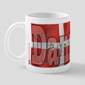 Silky Flag of Danmark Mug