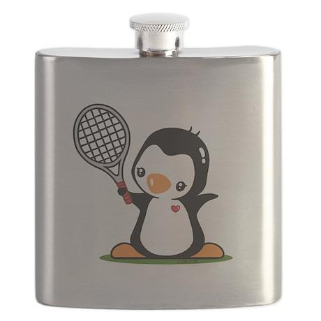 I Like Tennnis Flask