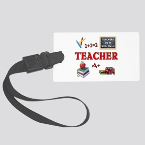 Teachers Do It With Class Large Luggage Tag