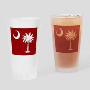 SC Palmetto Moon Drinking Glass