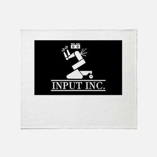 Input Inc Throw Blanket