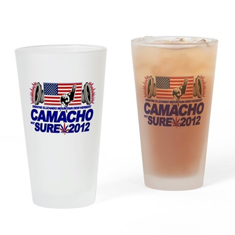 CAMACHO / NOT SURE - CAMPAIGN 2012 Drinking Glass