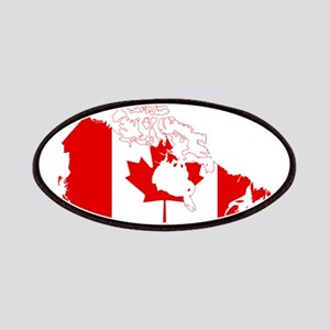 Canada Flag and Map Patches