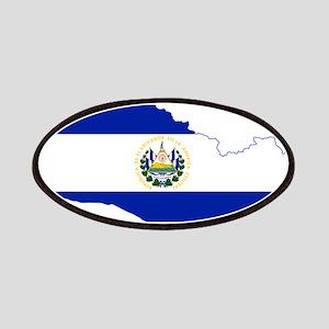 El Salvador Flag and Map Patches
