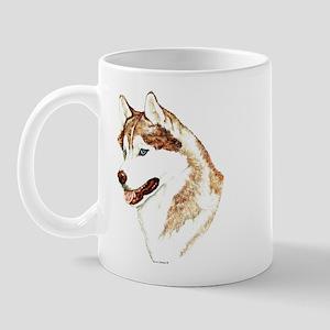 Siberian Husky Portrait Mug