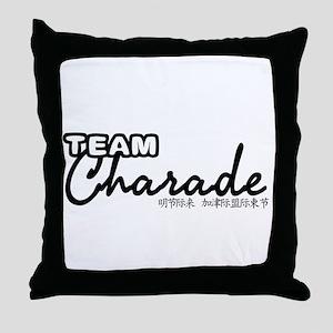 TEAM-CHARADE-DESIGN Throw Pillow