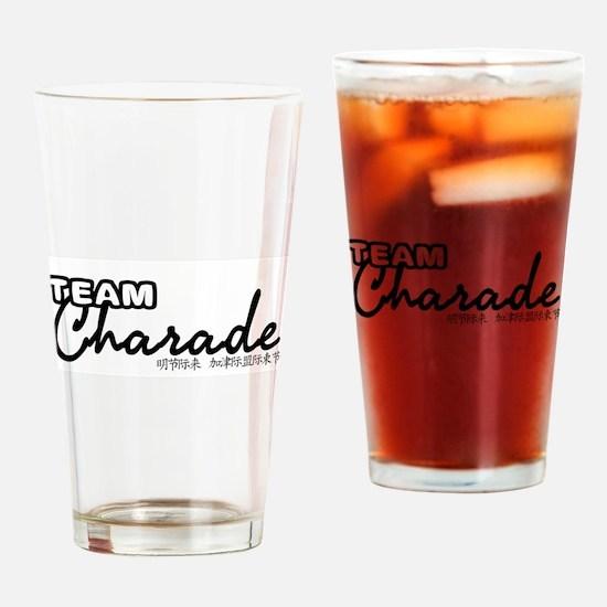 TEAM-CHARADE-DESIGN Drinking Glass