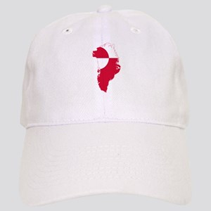 Greenland Flag and Map Cap