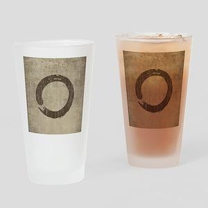 Vintage Enso Symbol Drinking Glass