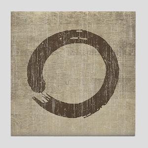 Vintage Enso Symbol Tile Coaster